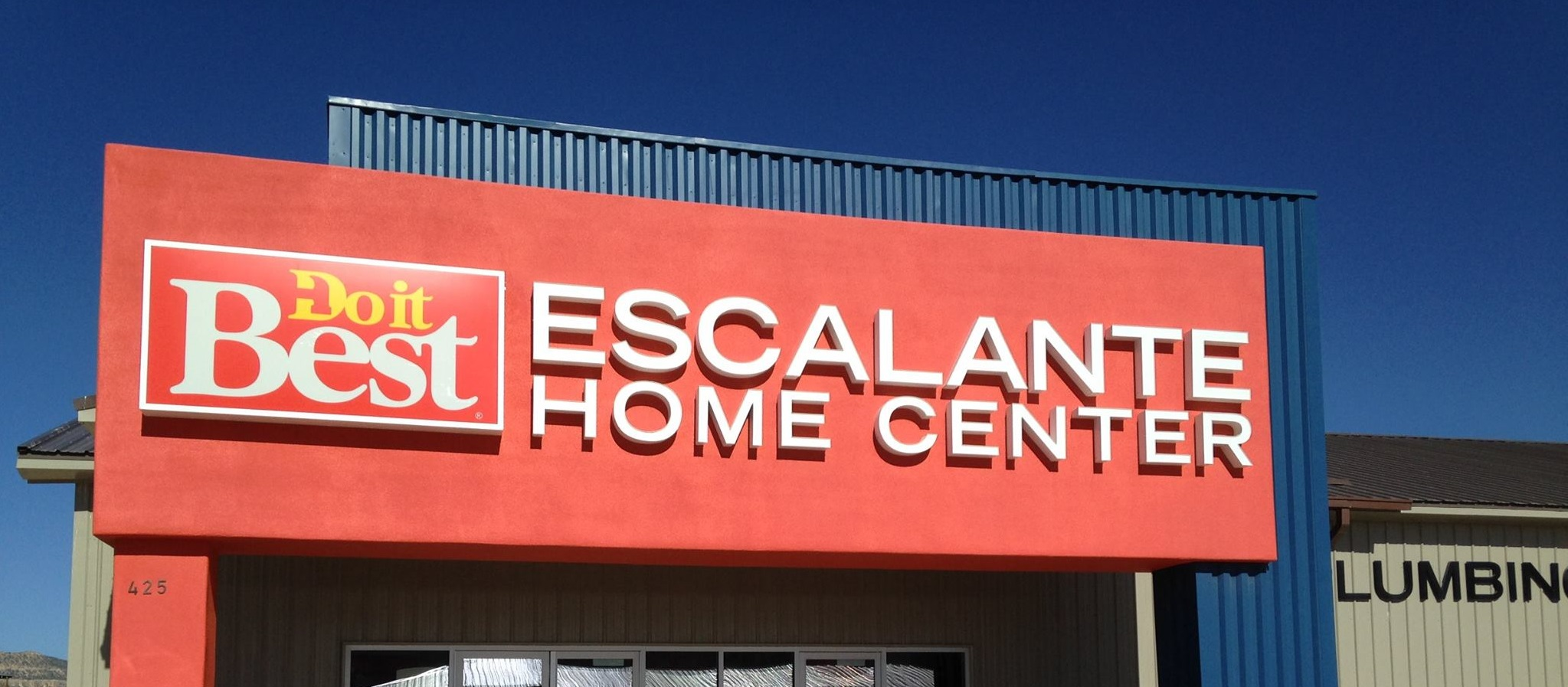 Escalante Home Center Storefront